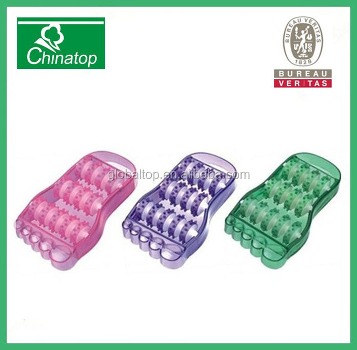 Healthy Plastic Feet Relax Foot Roller Design Massager