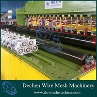 Full automatic 2-3.5mm bird cages wire mesh welding machine made in china(wires feeding automatic)