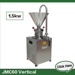 JMS60 Emulsifying Colloid Mill Tomato Tahini Sesame Paste And Peanut Butter Making Machine Fruit Grinder