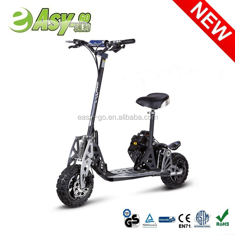 2015 HOT 2 speed 49cc gas scooter with Hub Motor with CE/EPA certificate