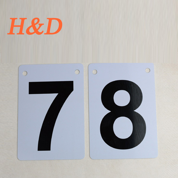 H&D Aluminum Sheet Number Plate UK Office Door Sign Plate Custom Room Sign