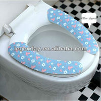 Portable Travel Silicone Pocket Toilet Seat Cover