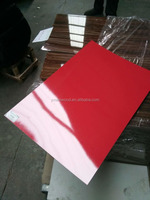 1mm high gloss melamine paper laminated MDF