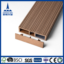 Eco-friendly Waterproof WPC wall cladding with teak lumber