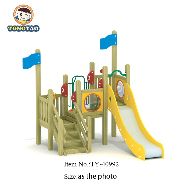 Wooden train <strong>slides</strong> for kids,Factory direct sale small <strong>slide</strong>