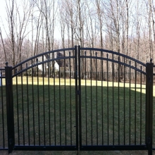 Security Gate Easy installation Without welding