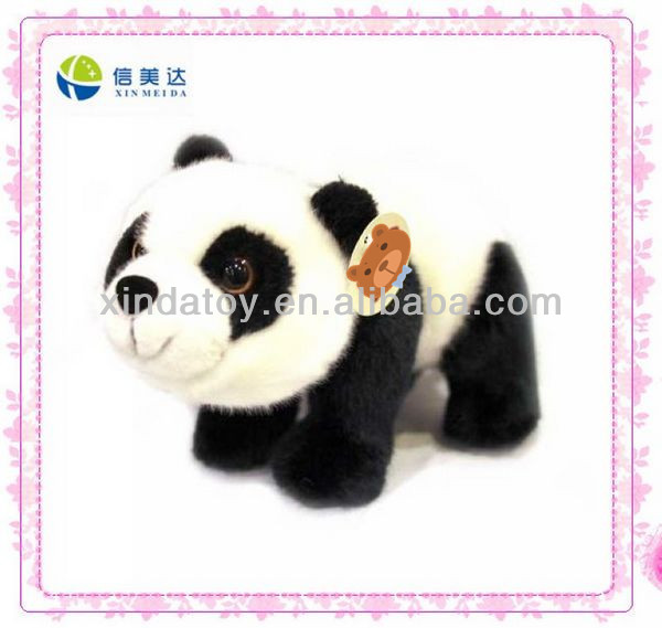 Lovely walking panda soft plush toy