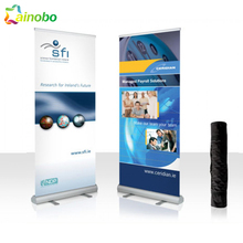 portable retractable banner advertising pull up poster stand roll up banner