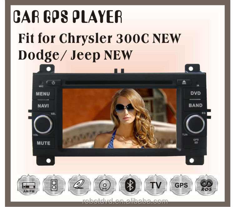 Fit for new JEEP chrysler 300C dodge car multimedia player with gps
