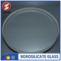 china round customized borosilicate glass discs