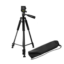 60 Inch Pro Series Full Size Camera/Video Black Aluminium 330A Tripod With Carrying case DSLR camera tripod