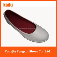 2015 hot selling cheap EVA sole canvas shoes/ladies flat shoes monochromatic slip on shoes women