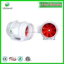 warehouse AC cover motor circular Inline mixed-flow duct fan