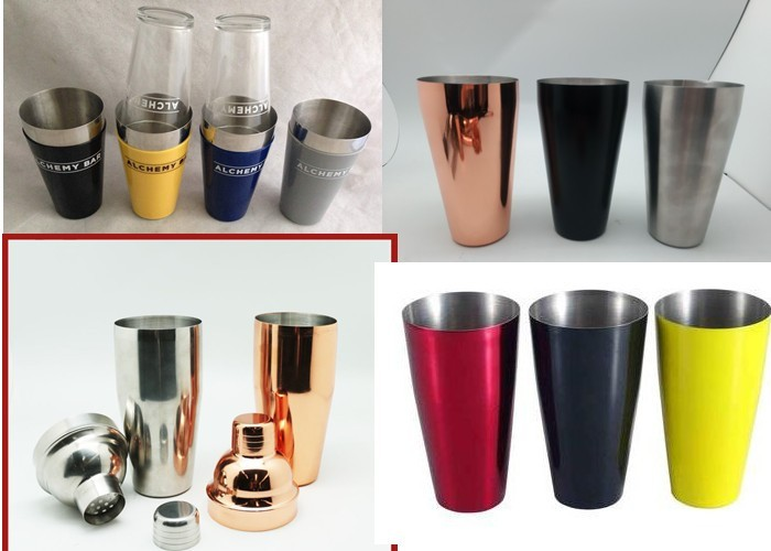 Stainless Steel 24oz Cocktail Shaker Cup