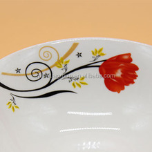 round wholesale porcelain cereal bowl