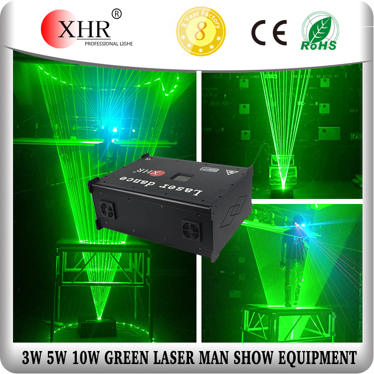 3w/5w/10w High Power laser dance,green laserman show equipment