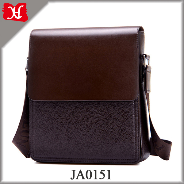 Fashion Men Leather Bag Cheap Business Shoulder Bag