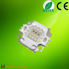 CE approval 180lm 240lm RGB led chip high power 10w rgb led