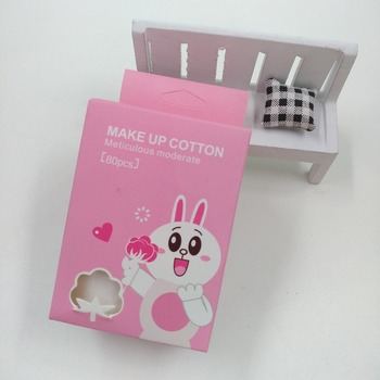 new design cute cosmetic cotton pads puff