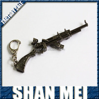 Military Assault Rifle Gun Knife Keychain Gun Assult Weapon Key Chain
