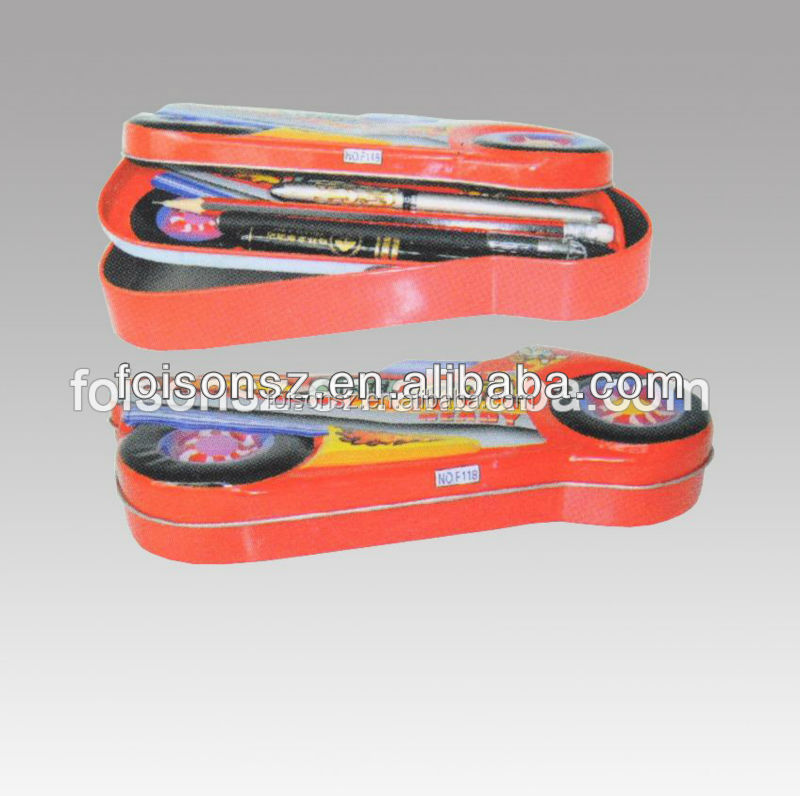 promotional latest design cool metal box for crayon