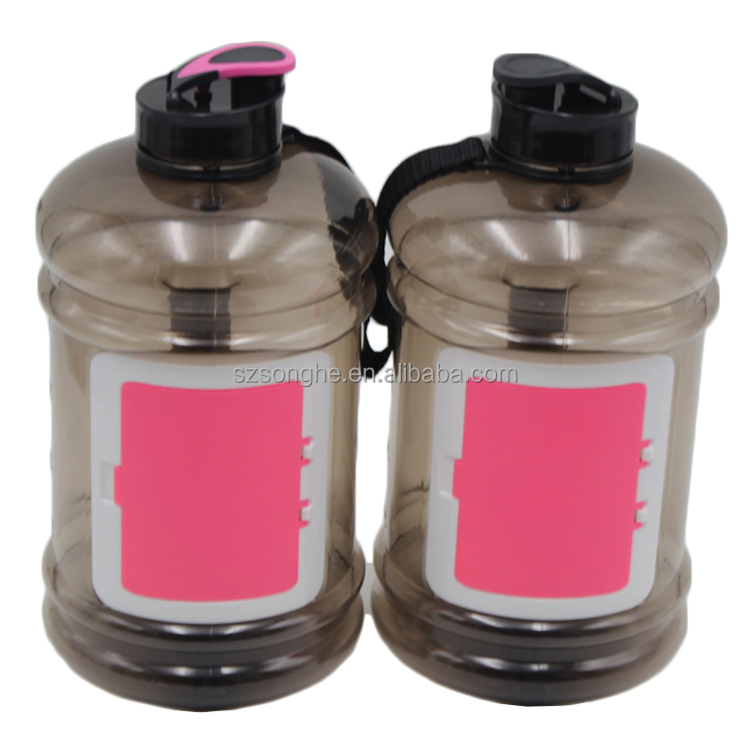 hot sale 2.2 L 2200ml sports Tritan water bottle carrier