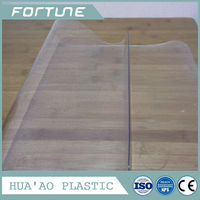 low toxicity pvc sheets super clear can be used for door curtain or tablecloth