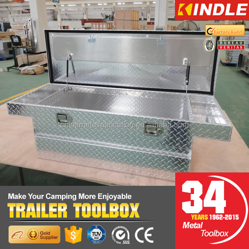 OEM Portable Aluminum Camper Trailer ToolBox For Truck