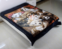 China Factory Bulk Wholesale Cheap Price Good Quality Flannel Blanket