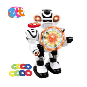Intellectual robot toys with making sound educational toys