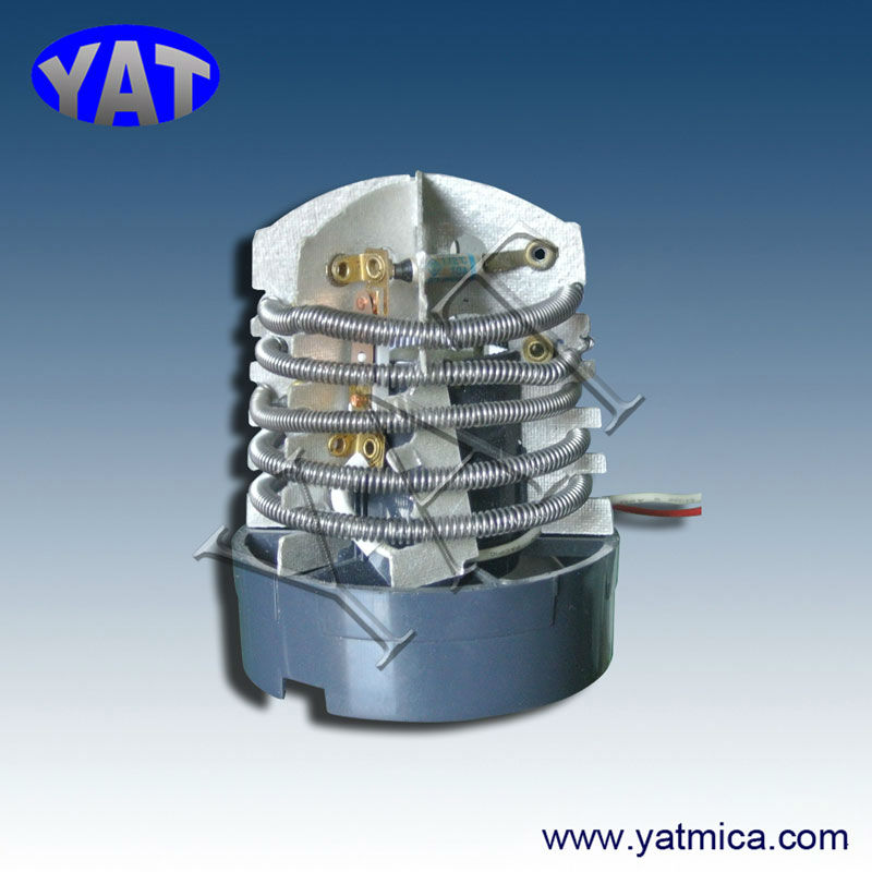Electrical mica resistance heating element with 110v