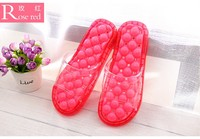 Beixiduo factory in china summer personalized sandal elegant men & women jelly dry quickly bathroom massage slipper