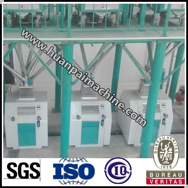 35 TPD wheat flour processing plant with good quality for sale