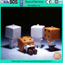 Little box plastic action figure toy/hotsale pvc cartoon toy/custom action figure factory