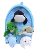custom Plush Ocean Animal House with Sea Animals