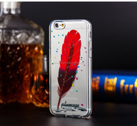 fashion soft tpu case for Iphone 6