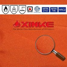 aramid flame resistant fabirc with low shrinkage used in petroleum industry