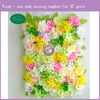 k8236-9 2016 factory direct Flower Wall Backdrop for Wedding Stage Decoration in Artificial Rose and Hydrangea
