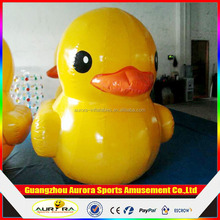 Outdoor Inflatable Yellow Duck 5m Big Yellow Inflatable Duck For Promotion Advertising Toys 5m large