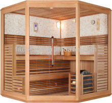 African wood types,LED sauna,with sand hourglass,FS-1231A(CE certificate)