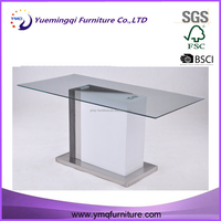 on sale new design round glass dinning table led , dinning table set glass