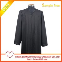 Hot Sell Adult Matte finish Graduation cap and gown
