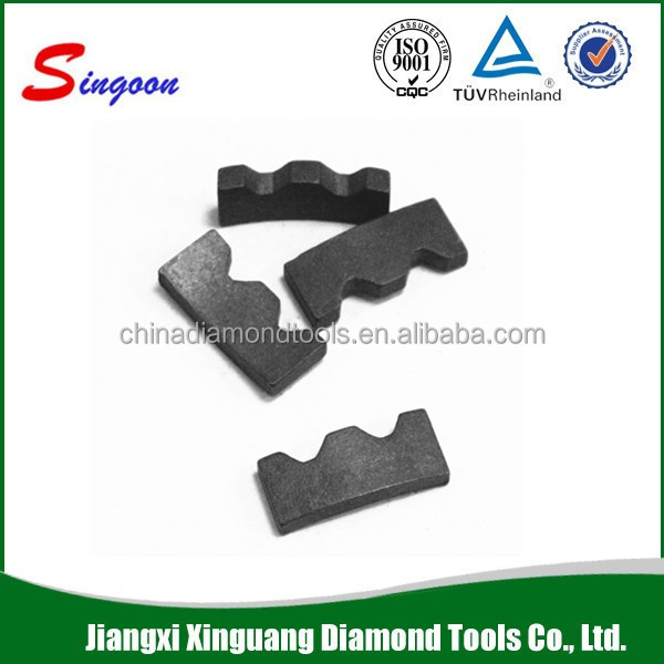 Diamond segment for indian red and black hard granite cutting (India market)