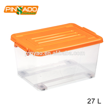 Eco-friendly Preservation Waterproof Plastic Storage Box For Clothes