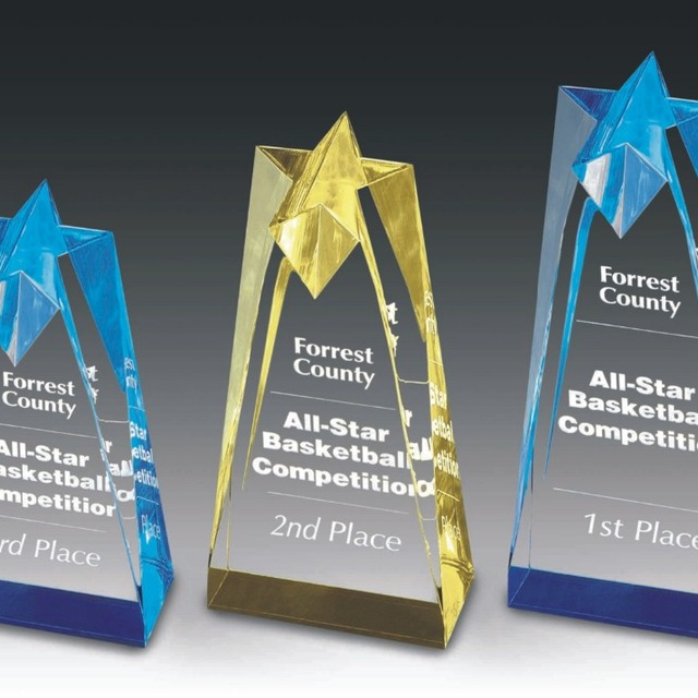 Crystal Acrylic Medal stand,Awards Trophy Plaques