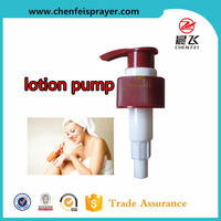CF-L-10 left/right locked custom order personal care bottle usage body lotion cream screw lotion pump for any color