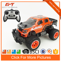 1/16 remote control car big wheel rc truck toy with charger