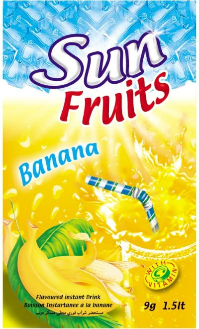 Sun Fruits instant powder drink