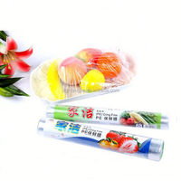 thick plastic roll transparent pe cling film for plastic wrap