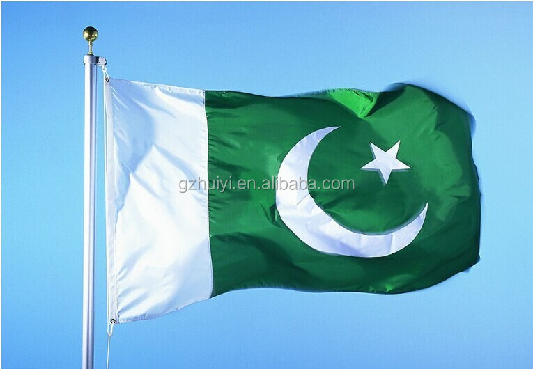 Customized PAKISTAN NATIONAL FLAGS